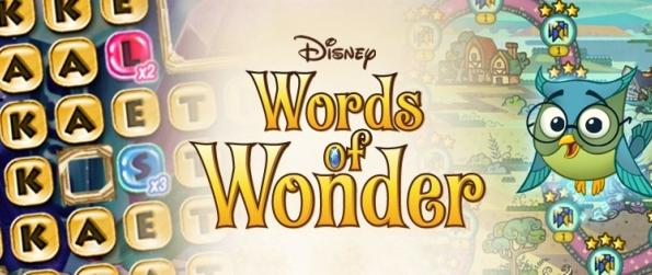 Words of Wonder - Trouvez tous les mots dans le jeu de Disney Words of Wonder !