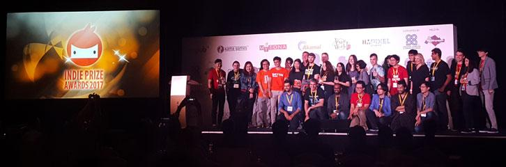 The Indie Prize Awards ceremony
