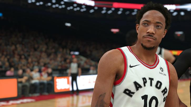 Demarr DeRozan NBA 2k18