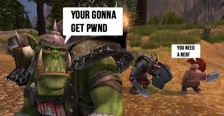 MMO Game Conversation