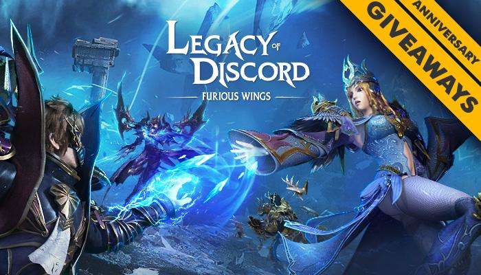 Legacy of Discord Celebrates Its Anniversary with a Giveaway