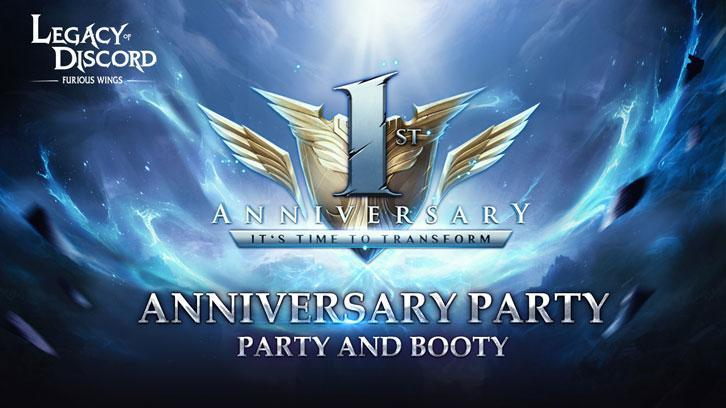 Legacy of Discord Celebrates Its One-Year Anniversary with a Wealth of Updates