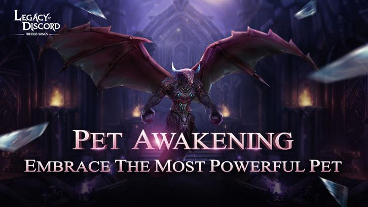 Legacy of Discord Launches New Pet Awaken System
