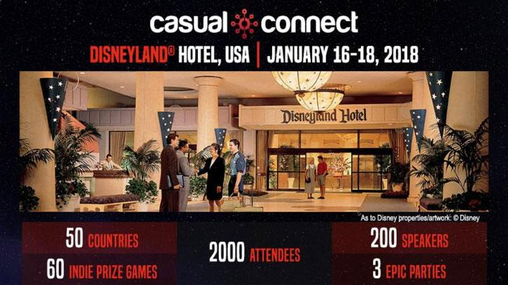 Casual Connect USA 2018 To Host 3 Days Of Gamedev In California