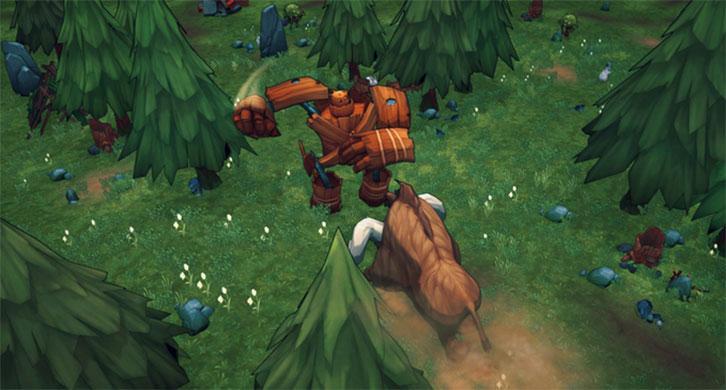 Wooden Goliath vs Giant boar