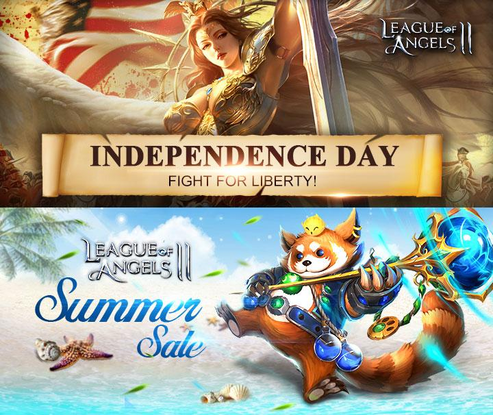 Celebrate Independence Day and the Midsummer with League of Angels 2