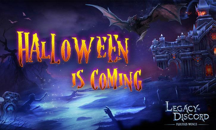 Legacy of Discord – Furious Wings: Halloween is Coming!