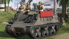 Battle Islands: Commanders: A tank