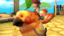 Florensia: Cute chick mount