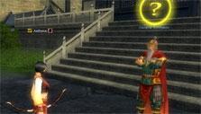 Taking a quest in Silkroad-R
