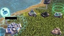 Path of War: World map