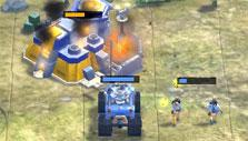 Attacking steelworks in Path of War