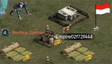 World map in Last Empire War Z