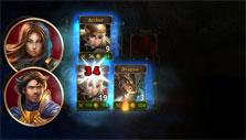 Combat gameplay in Legends of Callasia