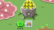 Level selection in Dragon Up: Match 2 Hatch