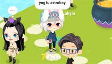 Socializing in LINE PLAY