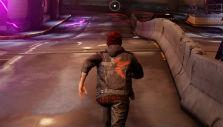 Running around a tunnel in inFamous Second Son