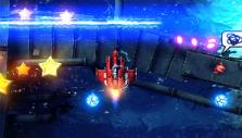 Dodging lasers in Sky Force Anniversary