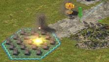 Island Force: Attacking a base
