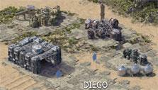 A friendly base in Island Force