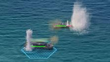 Island Force: Naval warfare