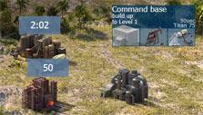 River Combat: Producing resources