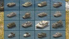 Recruiting units in River Combat
