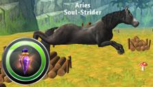 Horse Paradise: Leaping over obstacles