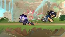 Pre-battle brawl in Brawlhalla