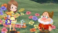 Snow White story in Kingdom Hearts Union X
