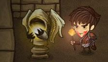 The Greedy Cave: Gold Touch statue