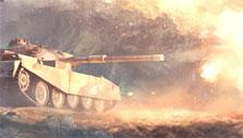 Fire in World of Tanks