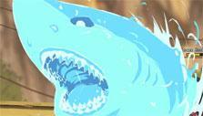 Shark Spell in Ultimate Naruto