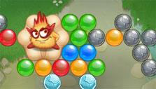 Rocks Level in Bubble Boo