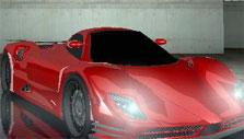 Sports car in Highway Racer