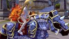 Armored horse in Dragon Nest