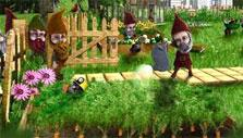 Tending to the crops in Molehill Empire