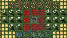 Molehill Empire: flower garden
