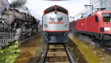 A fleet in Rail Nation
