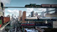 Rail Nation: Suspended tracks