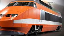 Modern bullet train in Rail Nation