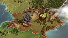 Continent map in Forge of Empires
