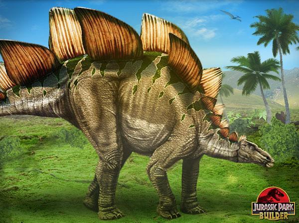Stegosaurus In Jurassic Park Builder