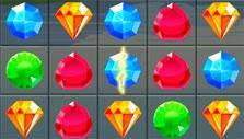 Vertical lightning gem in Pirate Treasures