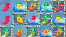 Frozen peppers in Pepper Panic Saga