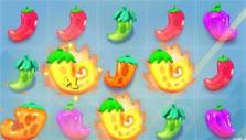 Exploding peppers in Pepper Panic Saga