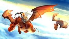 Flying free in Dragon Pals