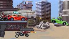 Jump in Robo Racing