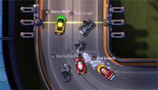 Crashing in Supercar Showdown