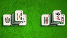 Stacked tiles in Mahjong Towers